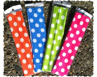 Polka Dot Stretch Headbands