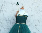 Princess Merida of Brave Costume - Pirate fairy zarina - zarina costume - pirate fairy costume - princess merida costume