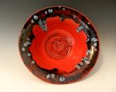 Medium Red Crystal Bowl