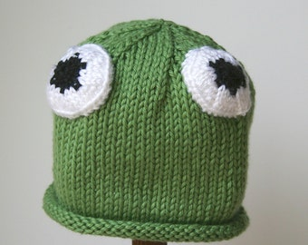 Baby Frog Hat, Infant toddler sizes, Gift Set, Halloween costume