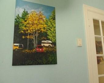 "Original Acrylic Painting Titled ""Gabriola"""