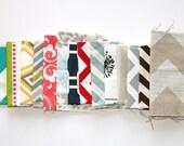 60% OFF! Fabric Scraps SALE- Premier Prints Fabric Remnants- Variety Color Assortment- Home Decor Fabric Scraps, DIY Project, Fabric Destash
