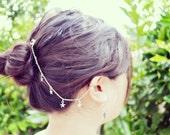 Dangling Stars Hair Clip Ear Cuff