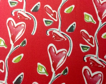 Ambrosia Heart Flower cotton fabric by Kathy Davis for Free Spirit