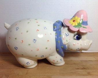 Stoneware Piggy Bank