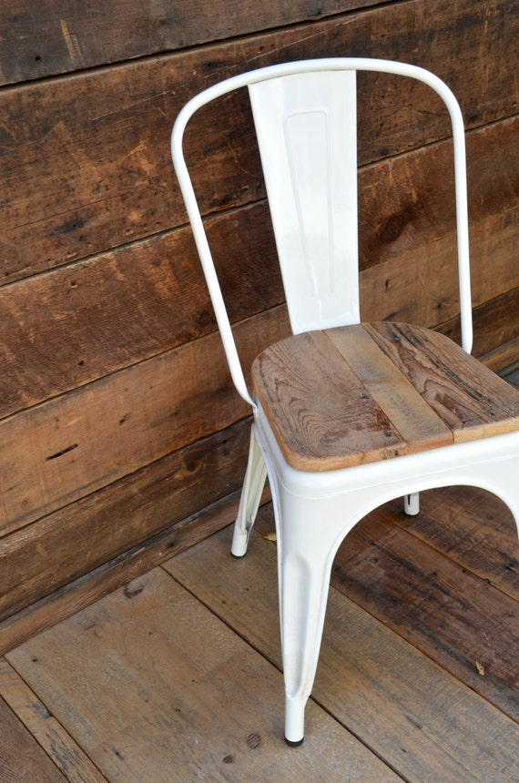 Like this item? & Custom Reclaimed Wood Seat Retro Fit Kit for Tolix Stools u0026 islam-shia.org