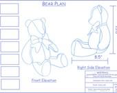 """Custom 18"""" Fabric Teddy Bears for Nicolette"""