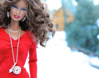 Fashion Doll Jewelry Set for Barbie, Fashion Royalty and other 12 inch Dolls: The Swirl