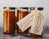 Honeyed Citrus Marmalade -- Grapefruit & Navel Orange
