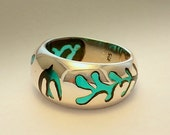 Matisse Ring .Sterling Silver Art.
