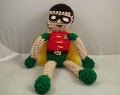 Crochetted Robin