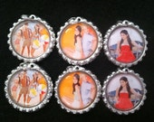 Teen Beach Movie Birthday Party Pack Bottle Cap Necklaces Party Favors Goody Bags, Additional Images Available, Bulk Discount, Tween Party