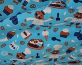 Organic Jersey fabric - Lillestoff - Bakery Fun - 1/2 yard