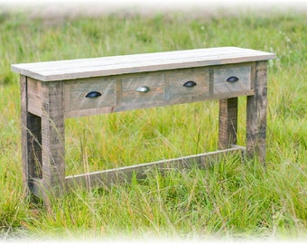 Reclaimed Wood Buffet Console Table