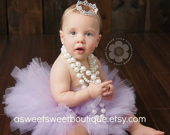 Sweet Lydia Tutu And Tiara Set Stunning Unique Newborn Photo Prop And Princess Halloween Costume Available In Many Colors