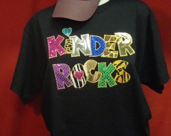Kinder Rocks Shirt for teachers!