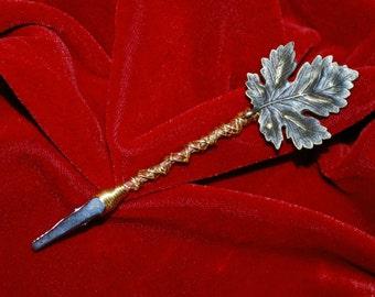 Bronze Leaf Memo Clip