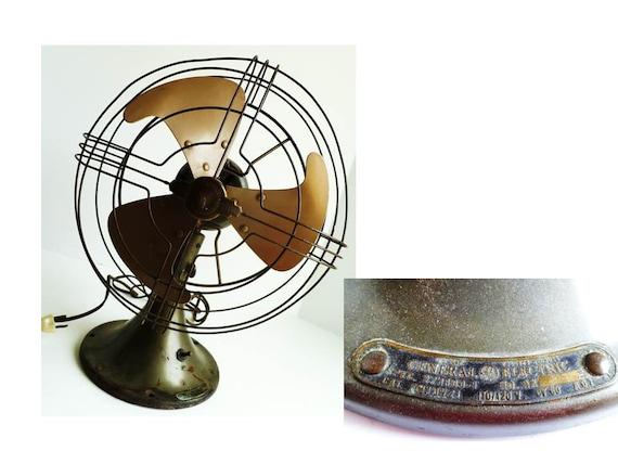 Vintage Ge Fan : Electric fan ge oscillating vintage