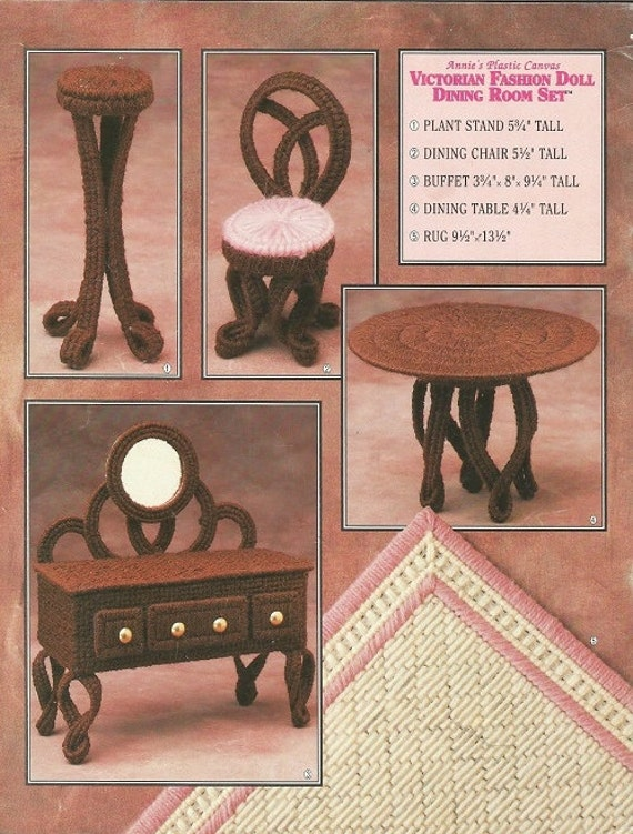 Plastic Canvas Pattern Barbie Doll Furniture By Luvinthecrafts