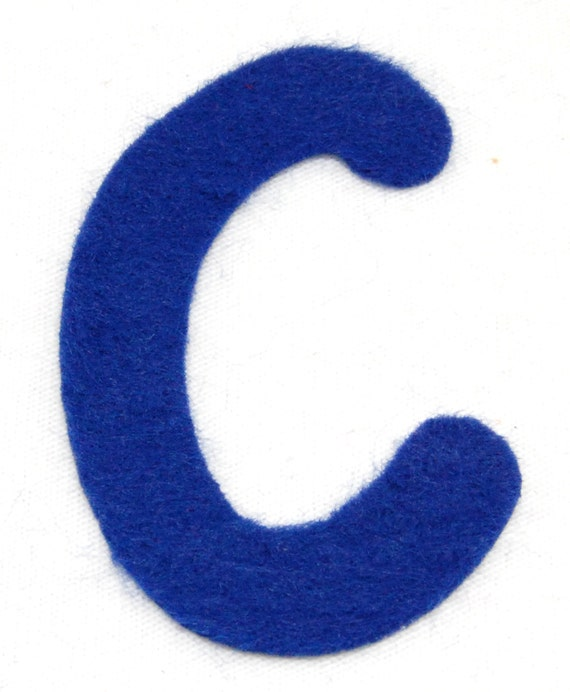 C felt alphabetic letters 2 4 inch iron on choose from 28 for Felt iron on letters for clothing
