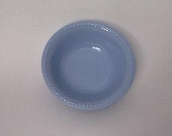 Homer Laughlin 1937 Kraft Blue Laughlin Bowl Collectable China Berry Bowl Blue Berry bowl replacement china Kraft blue pattern 6 inch Bowl