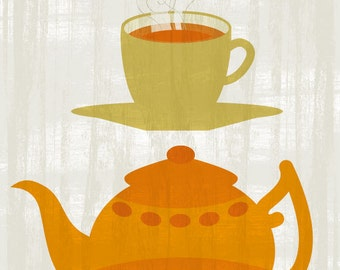 Teatime - Original ILLUSTRATED Printable