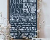 Personalized Wishes Print