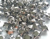 100 Origami Stars - Silver