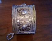 Victorian Silver Cuff Bracelet