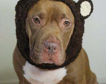 Bear Dog Snood Medium Ready to Ship