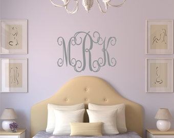 Dorm Decor College Dorm Room Removable Wall Decal - 35 Colors Available.