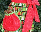 CHRISTMAS  Pocket Full of Fun APRON - PDF Downloadable Sewing Pattern
