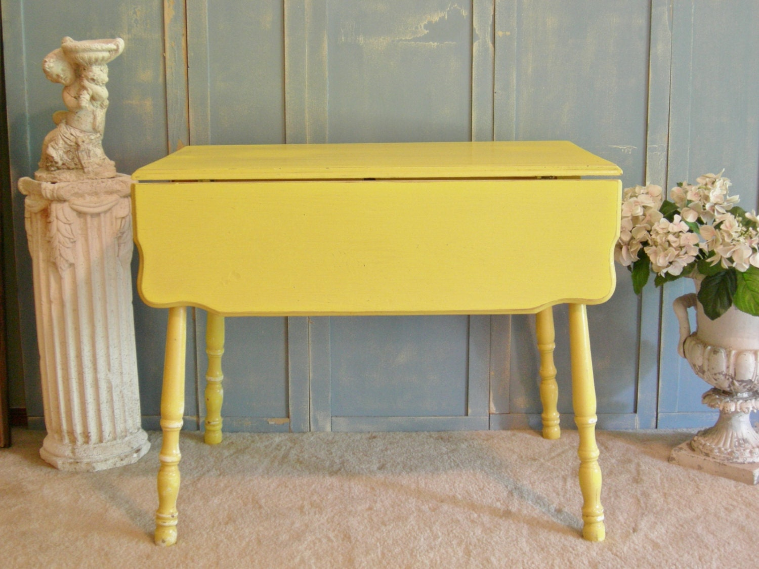 Drop leaf kitchen table shabby chic kitchen island entry - Drop leaf kitchen table ...