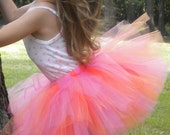Pink and Orange Tutu for babies, toddlers, and girls