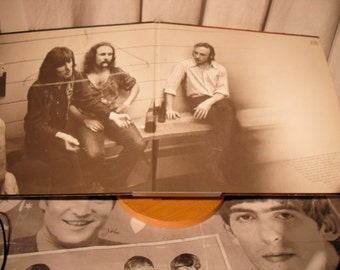 Crosby Stills Nash And Young 4 Way Street 1970 on Atlantic Records Gold record Original vintage Vinyl