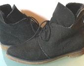 Vintage Perry Ellis America Suede Desert Boots Size 7M