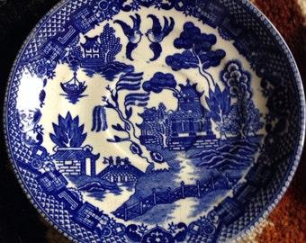 Vintage Blue Willow Japan Saucer