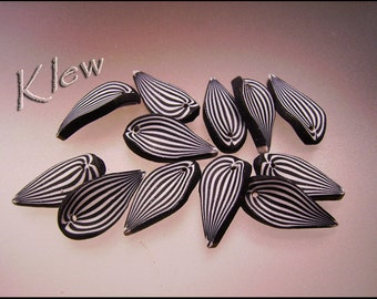 Sculpted Polymer Leaves