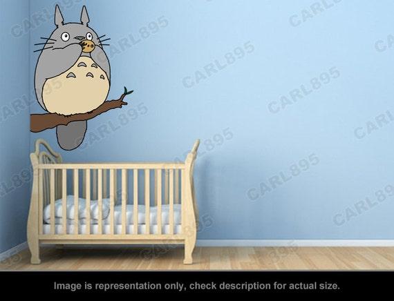 Inspiré de Totoro - arbre de Totoro flûte Wall Sticker Art appliques