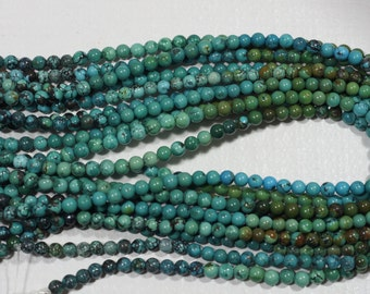 African Turquoise Natural Gemstone Beads Jewelry Making Supplies Turquoise Beads