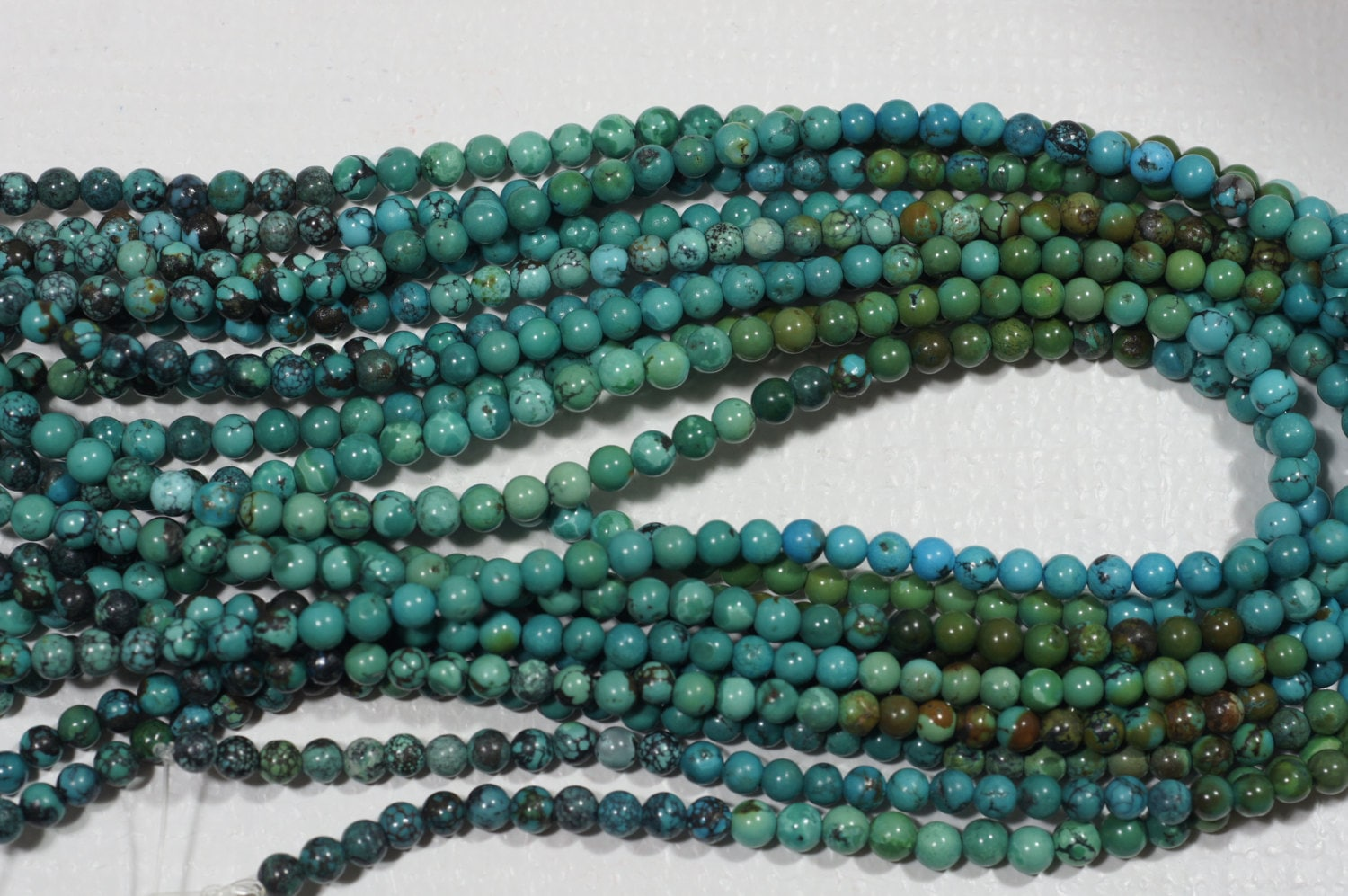 African turquoise natural gemstone beads jewelry making for Birthstone beads for jewelry making
