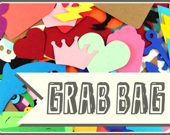 40% OFF SALE! Die Cut Grab Bag Set of 50