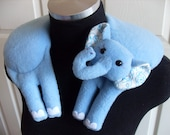 Daphne the Elephant Therapeutic Warming Herbal Neck Pillow