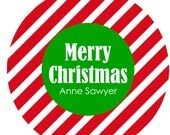 Christmas Melamine Plate-Custom-Personalized-Plate-Monogramed Plate - Great for Kids-Hostess Gifts-Holiday Plate