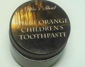 Sweet Orange Children's Toothpaste- Remineralizing, All Natural, Fluoride Free