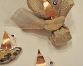 Reserved listing for Rachel - Driftwood sailboat favors -wedding favors - bridal shower favor- baby shower favor
