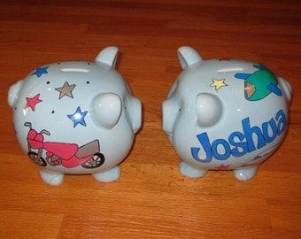 Train piggy bank etsy - Train piggy banks ...