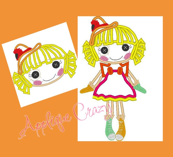 Doll Face Applique designs (face and full body)