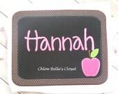 Back to School Chalk Board Ruffle Shirt