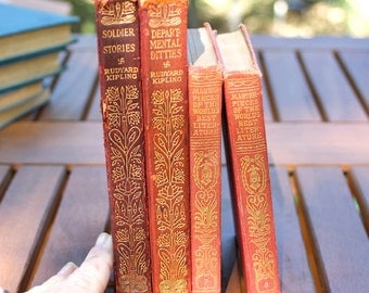 Four old red books